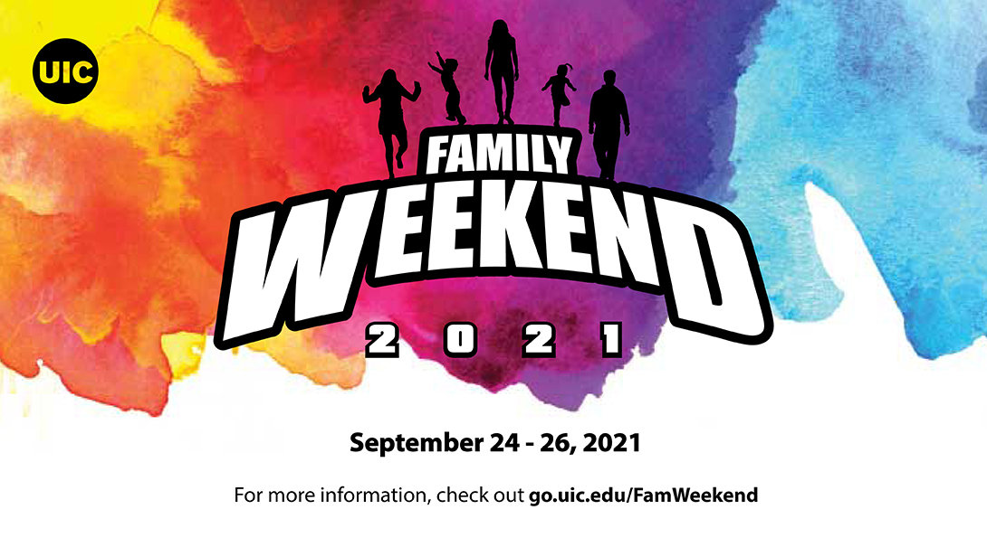 Family Weekend Save the Date: September 24-26, 2021